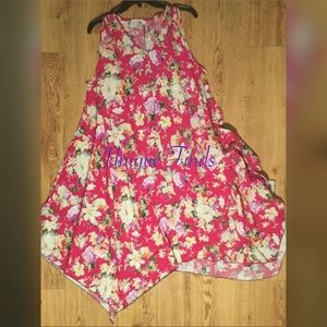 NWT Plus Cotton Umbrella Dress
